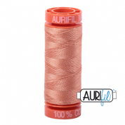 Aurifil 50 Cotton Thread - 2215 (Peach)